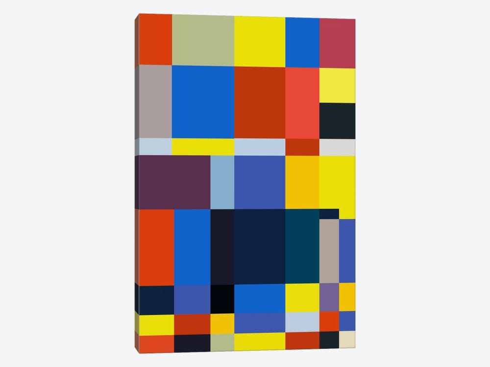 Cubiq by The Usual Designers 1-piece Canvas Wall Art