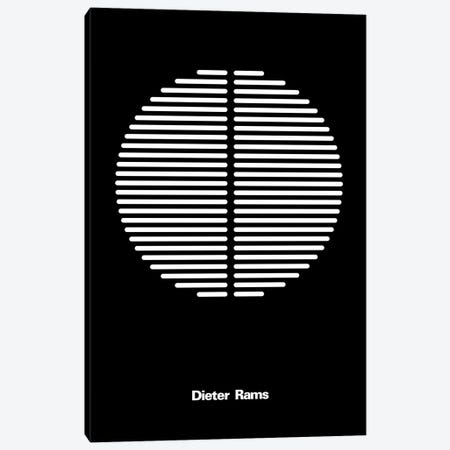 Dieter Rams Canvas Print #USL34} by The Usual Designers Canvas Art