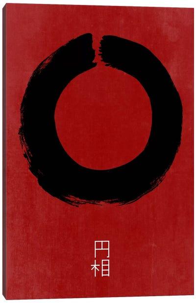 Enso In Japan Canvas Art Print