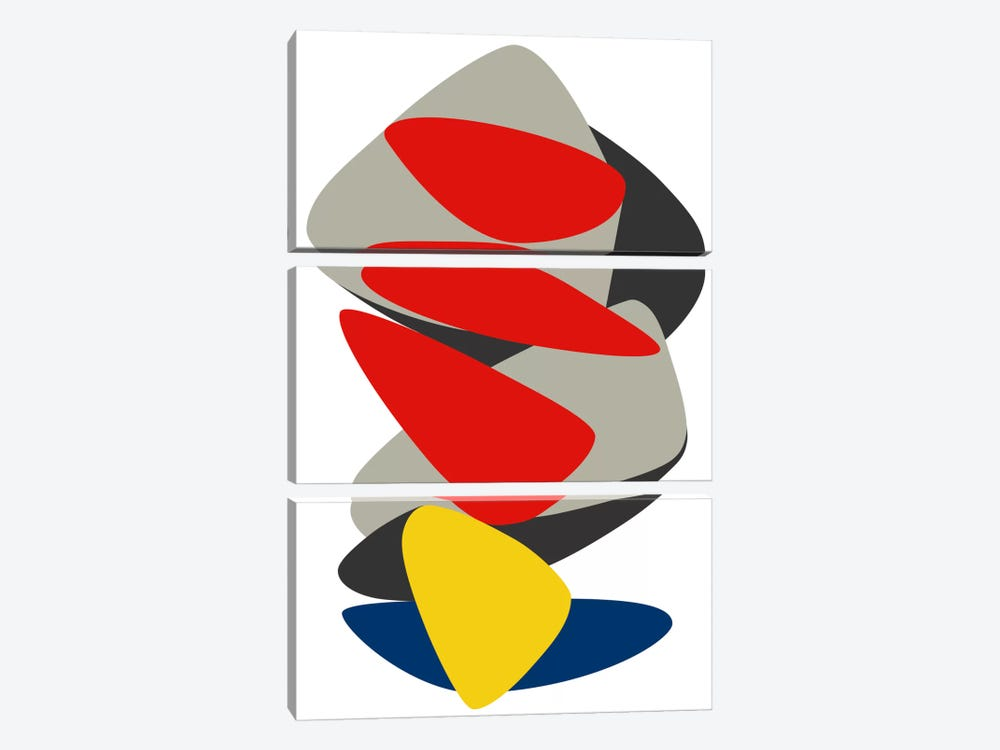 Equilibrium by The Usual Designers 3-piece Canvas Wall Art