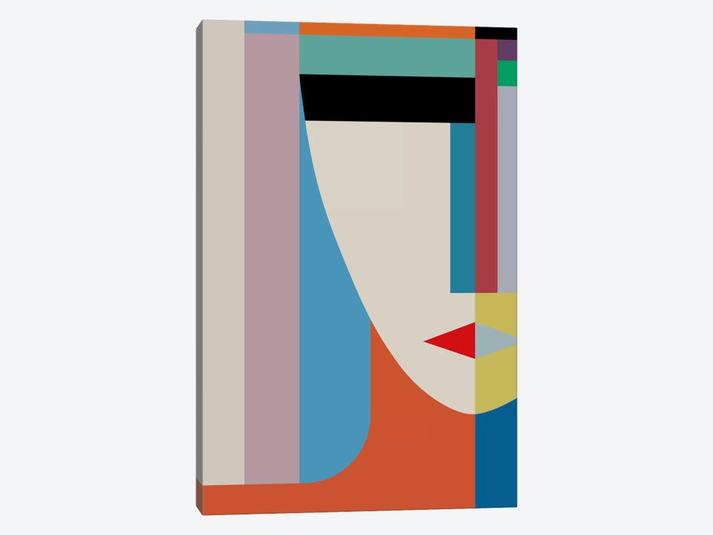 Absolute Face by The Usual Designers 1-piece Art Print
