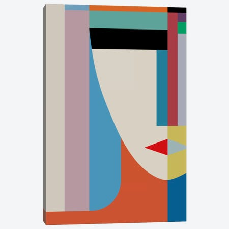 Absolute Face Canvas Print #USL3} by The Usual Designers Canvas Art Print