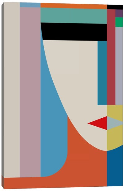 Absolute Face Canvas Art Print