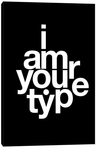 Helvetica Canvas Art Print