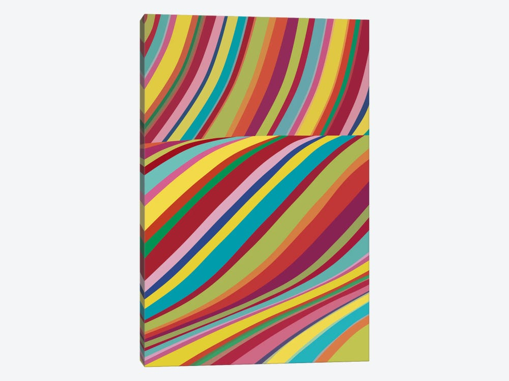 Joyride by The Usual Designers 1-piece Canvas Wall Art