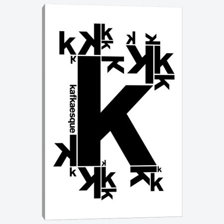 Kafkaesque Canvas Print #USL52} by The Usual Designers Canvas Print
