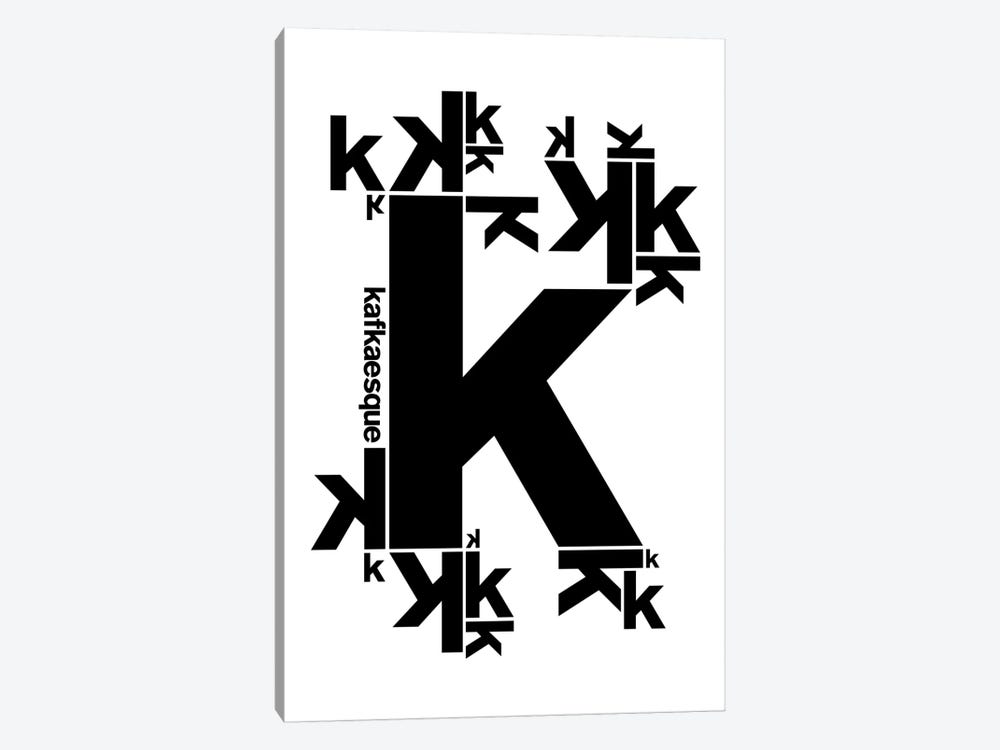 Kafkaesque by The Usual Designers 1-piece Canvas Wall Art
