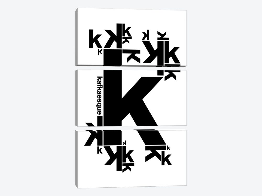 Kafkaesque by The Usual Designers 3-piece Canvas Art