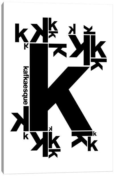 Kafkaesque Canvas Art Print