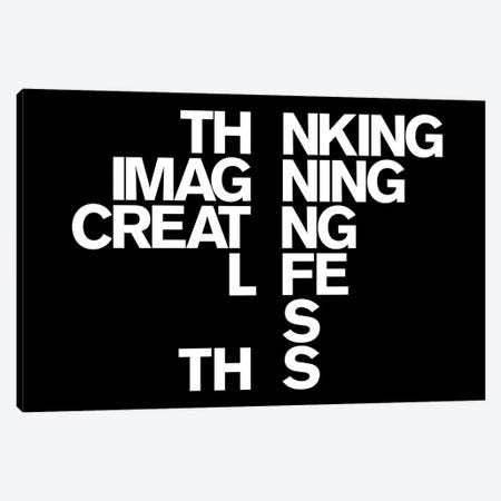 Life Canvas Print #USL53} by The Usual Designers Art Print