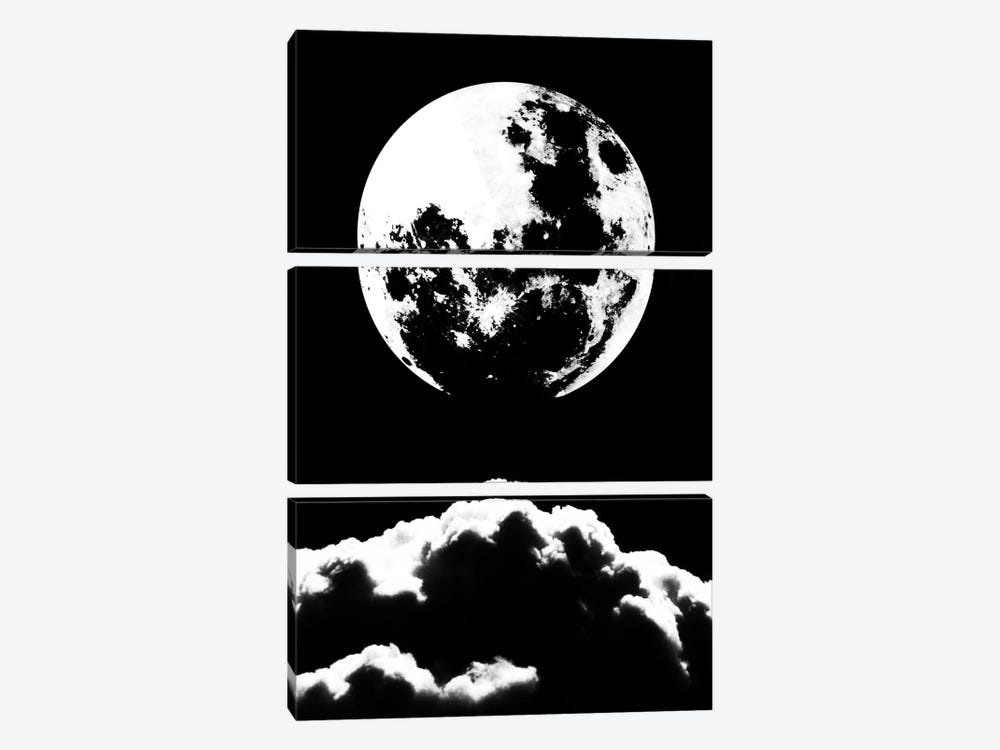 Moonastery by The Usual Designers 3-piece Canvas Wall Art