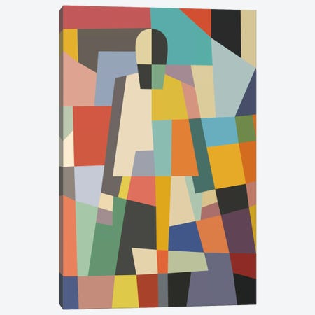 Mystery Woman Canvas Print #USL60} by The Usual Designers Canvas Art