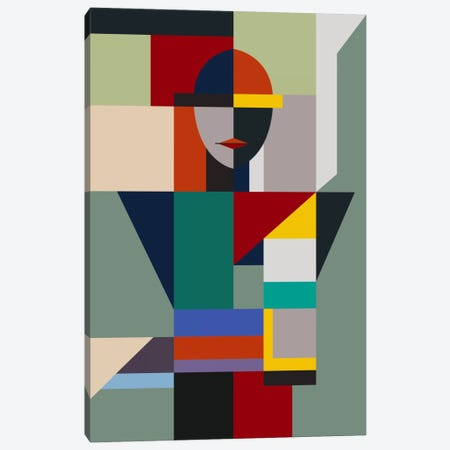 Nameless Woman Canvas Print #USL61} by The Usual Designers Canvas Artwork