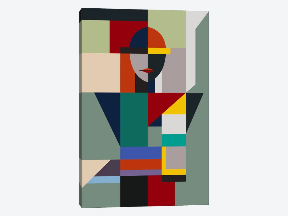 Nameless Woman by The Usual Designers 1-piece Canvas Art