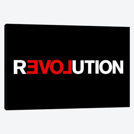 Revolution Canvas Print #USL68} by The Usual Designers Canvas Artwork