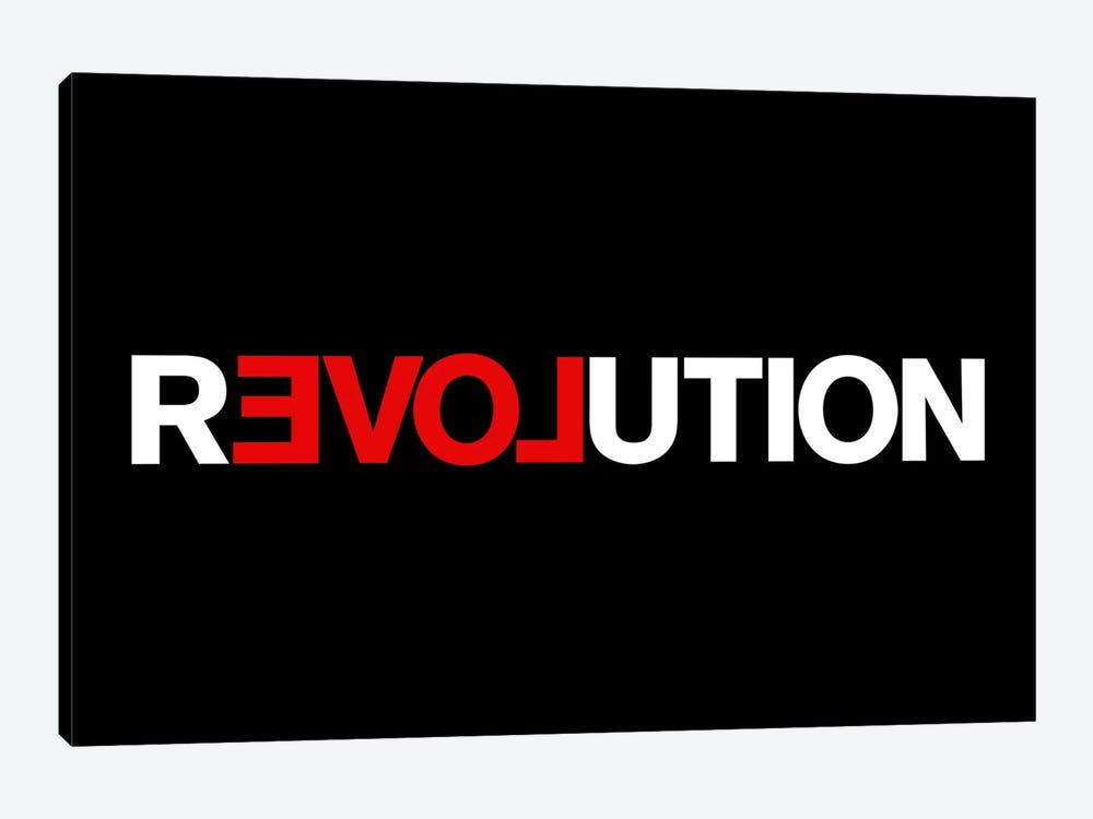 Revolution by The Usual Designers 1-piece Canvas Print