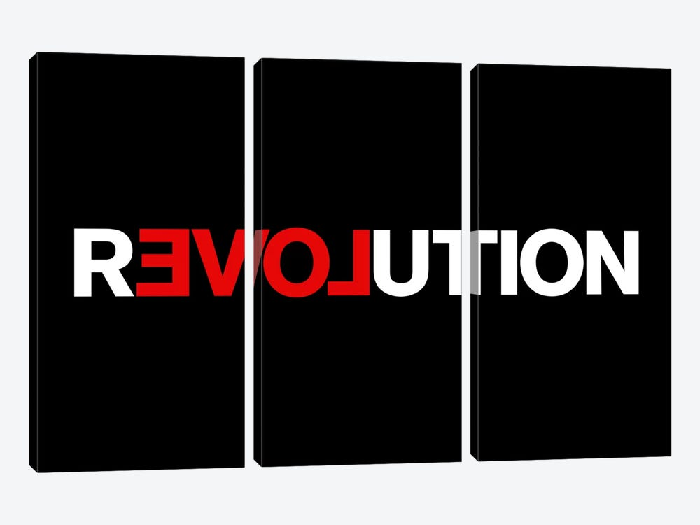 Revolution by The Usual Designers 3-piece Art Print