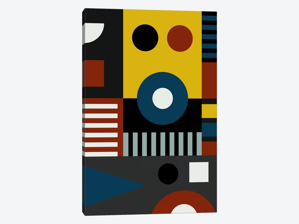 Speech At The Bauhaus by The Usual Designers 1-piece Art Print