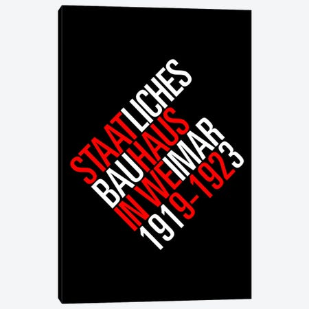 Staatliches Bauhaus I Canvas Print #USL72} by The Usual Designers Canvas Art Print