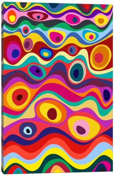 Strata Canvas Art Print