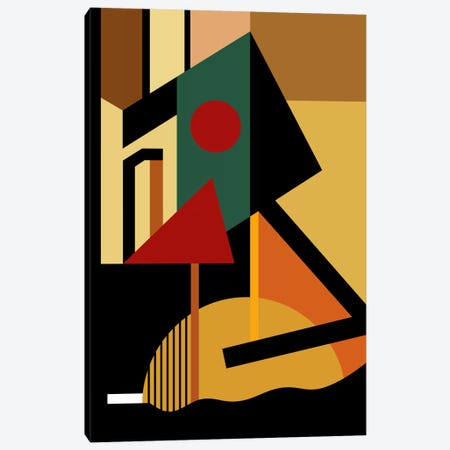 The Geometrist Canvas Print #USL80} by The Usual Designers Canvas Wall Art
