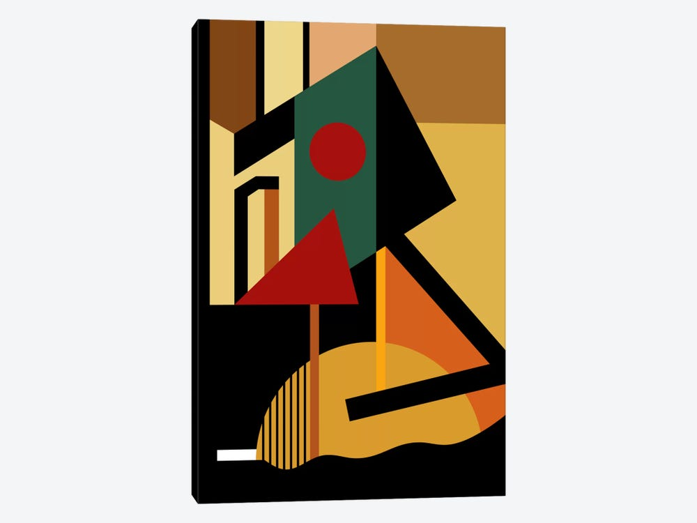 The Geometrist by The Usual Designers 1-piece Art Print