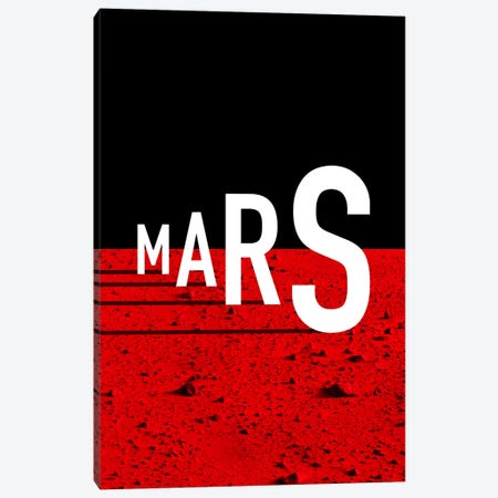 To Mars Canvas Print #USL85} by The Usual Designers Art Print