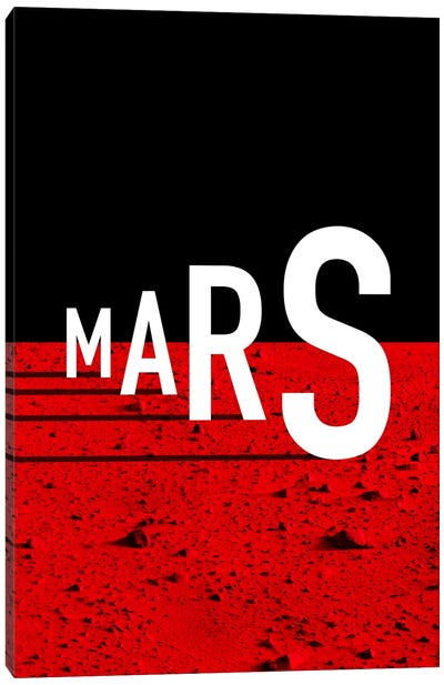 To Mars Canvas Art Print