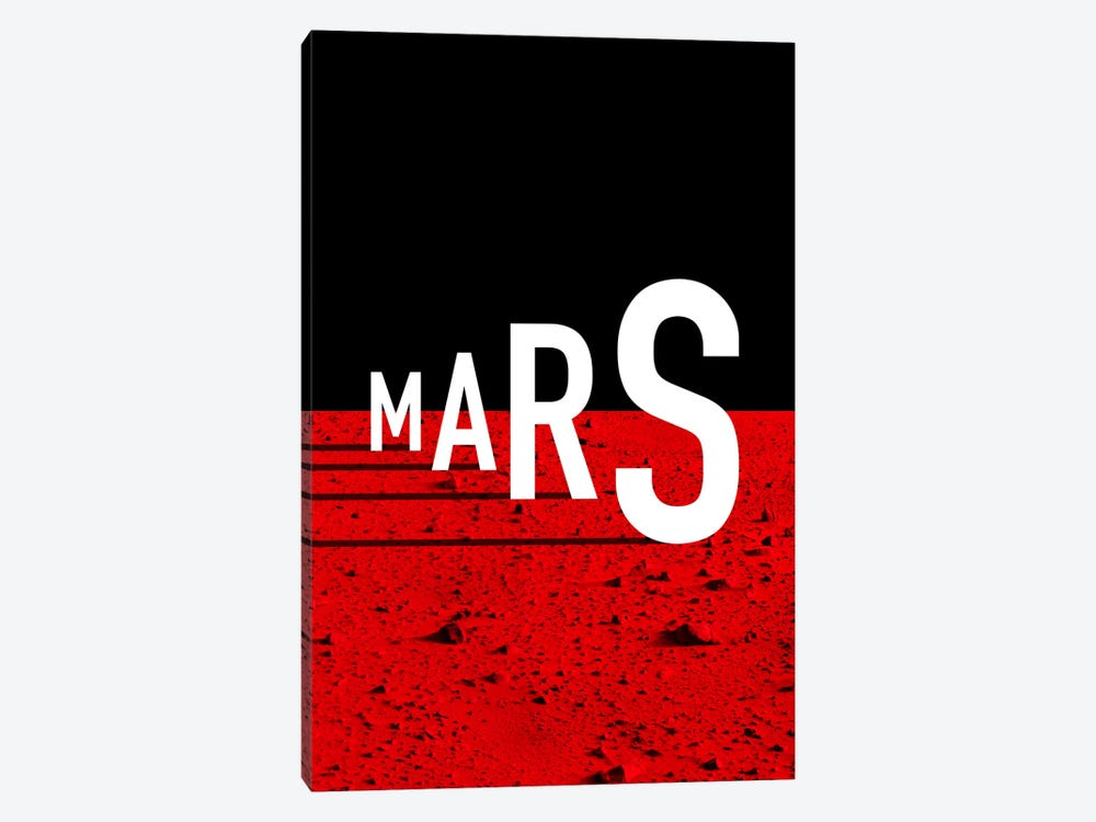 To Mars by The Usual Designers 1-piece Canvas Art