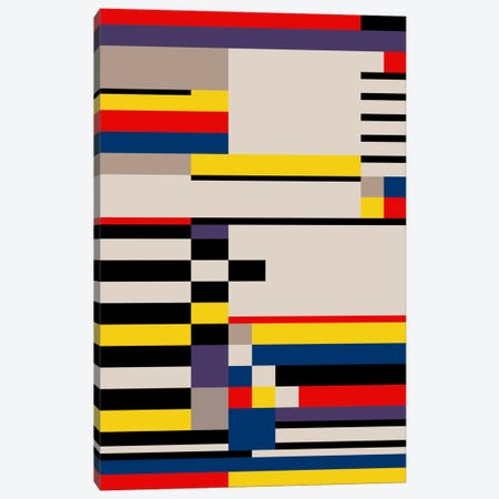 Asymmetry Canvas Print #USL8} by The Usual Designers Canvas Print