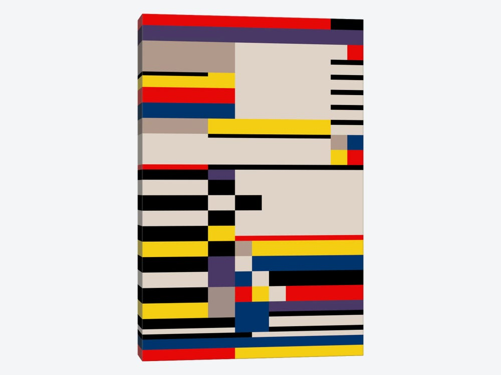 Asymmetry by The Usual Designers 1-piece Canvas Artwork