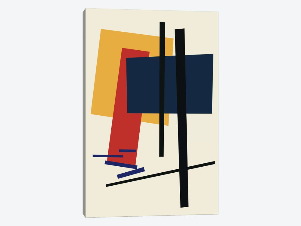 Tribute To Malevich by The Usual Designers 1-piece Canvas Artwork