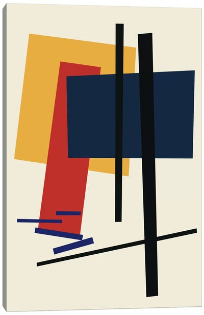 Tribute To Malevich Canvas Art Print