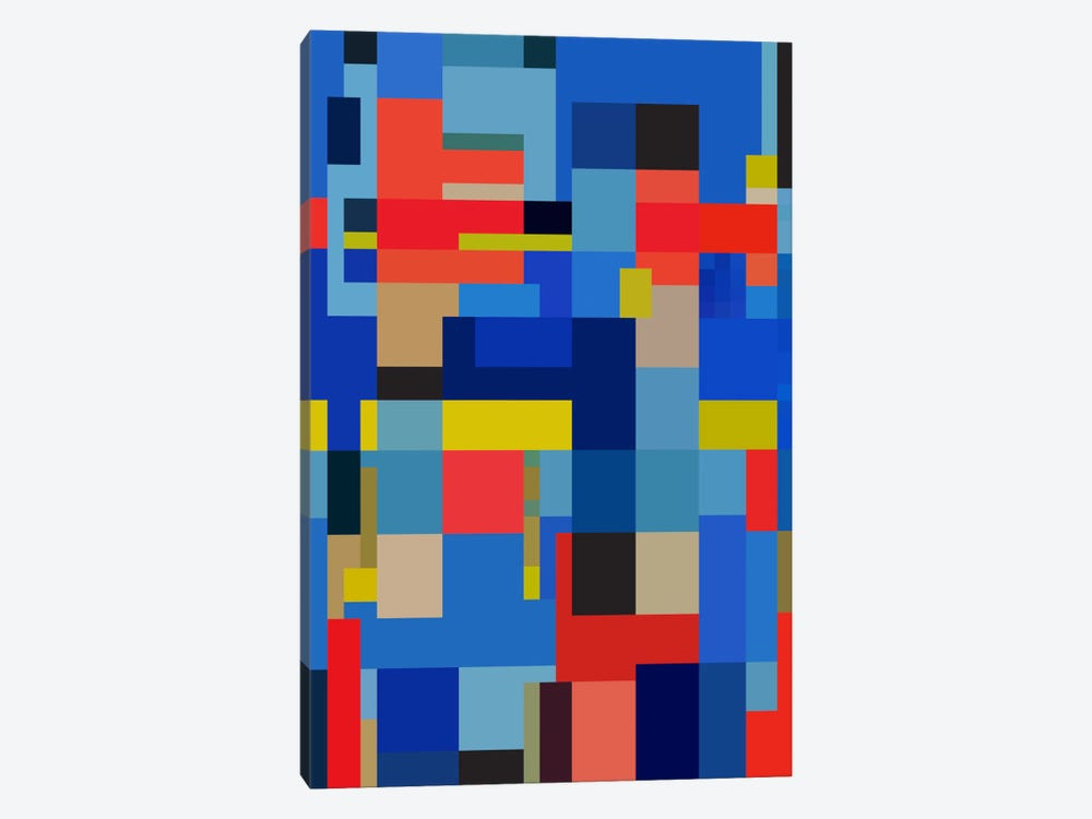 Viva by The Usual Designers 1-piece Canvas Artwork