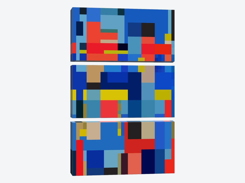 Viva by The Usual Designers 3-piece Canvas Artwork