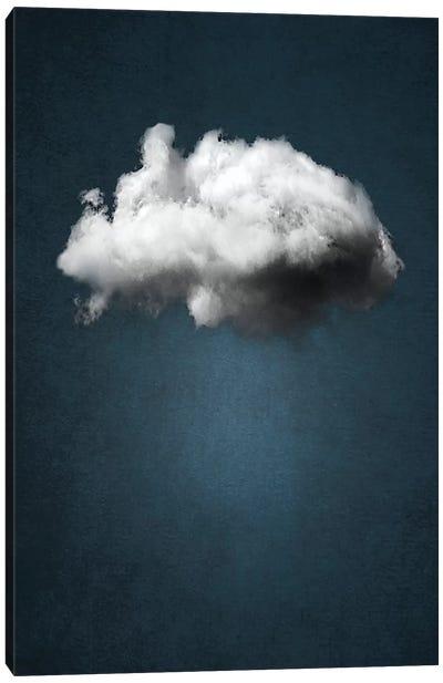 Waiting Magritte Canvas Art Print