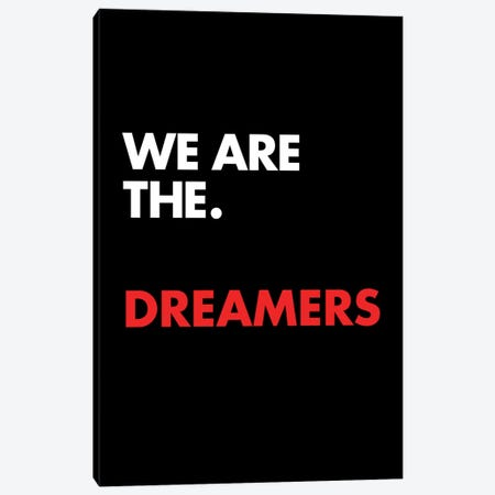 We Are The Canvas Print #USL99} by The Usual Designers Canvas Print