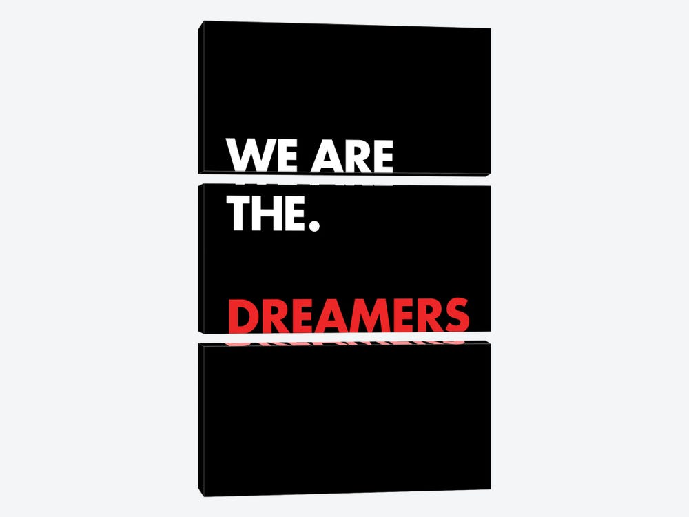 We Are The by The Usual Designers 3-piece Canvas Print