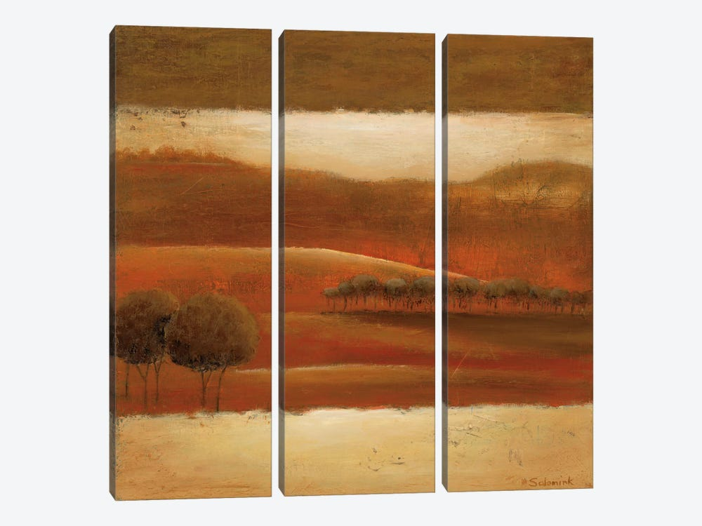 Mountain Valley II by Ursula Salemink-Roos 3-piece Art Print