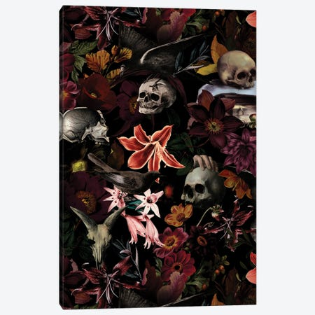 Jan Davidsz. De Heem Mystical Skulls Canvas Print #UTA129} by UtArt Canvas Print