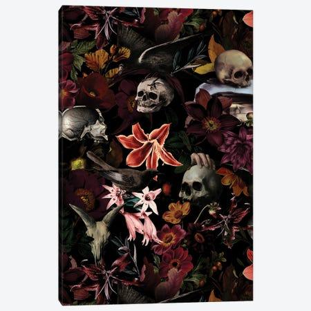 Jan Davidsz. De Heem Mystical Skulls Canvas Print #UTA129} by UtArt Canvas Print
