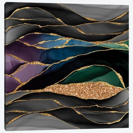 Luxury Dark Marbling Landscape Canvas Print #UTA150} by UtArt Canvas Wall Art
