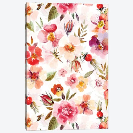 Midsummer Roses Canvas Print #UTA155} by UtArt Canvas Print