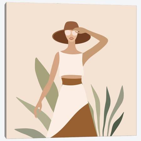 Modern Exotic Girl I Canvas Print #UTA164} by UtArt Canvas Wall Art