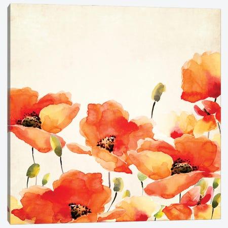 Poppy Meadow Canvas Print #UTA186} by UtArt Canvas Wall Art