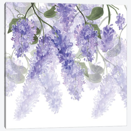 Purple Wisteria Canvas Print #UTA196} by UtArt Canvas Print