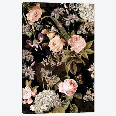 Redouté Roses Night Garden Canvas Print #UTA202} by UtArt Canvas Wall Art