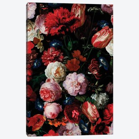 Antique Dutch Vintage Flower Garden Canvas Print #UTA28} by UtArt Canvas Artwork