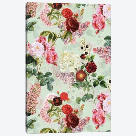Blush Redouté Summer Garden Canvas Print #UTA66} by UtArt Art Print