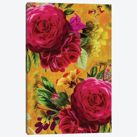 Colorful Vintage Garden Canvas Print #UTA72} by UtArt Canvas Art Print